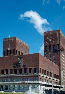 Free The City-hall Of Oslo Stock Photos - 1042233