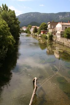 Free River In South Of France Stock Image - 1042341