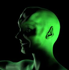 Free Alien Women 2 Stock Image - 1042391