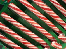 Free Candy Canes Royalty Free Stock Photography - 1042457