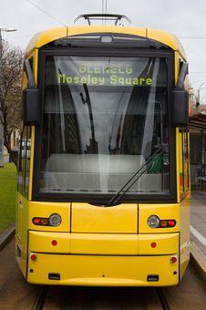 Free Bombardier Class Tram Royalty Free Stock Image - 1044256