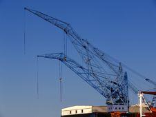 Free Cranes Stock Photography - 1044802