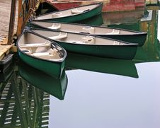 Free Canoes Royalty Free Stock Images - 1045359