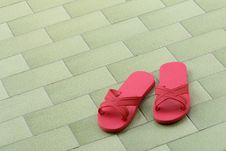 Free Pink Slippers Stock Photography - 1046182