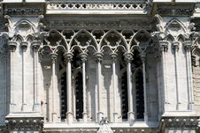 Gothic Cathedral Windows Royalty Free Stock Photography
