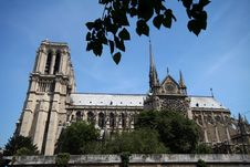 Free Notre Dame Side Royalty Free Stock Images - 1048099