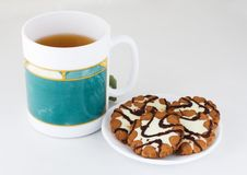Free Tea With Cookies Royalty Free Stock Photos - 1048568