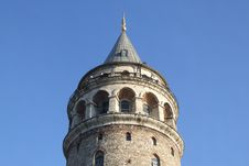 Free Galata Tower Stock Image - 1049071