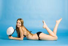 Free The Beautiful Girl In Bikini Stock Photos - 1049403