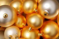 Free Christmas Balls Stock Photography - 1049972