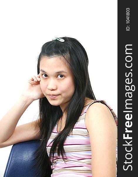 Natural young asian girl 19