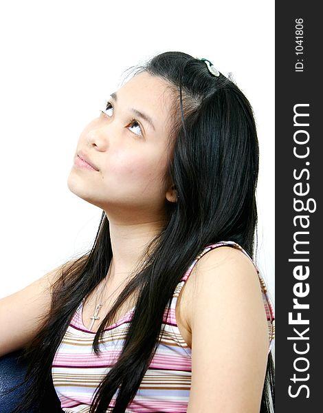 Natural young asian girl 18