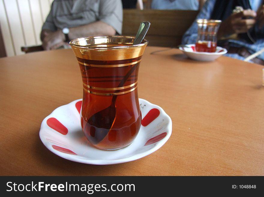 Tea turkish style