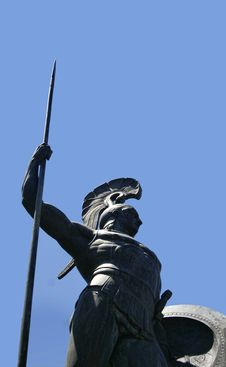 Free Statue Of Achilleus Stock Photos - 10404643