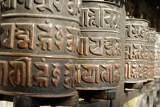 Free Prayer Wheels Stock Photos - 10404723
