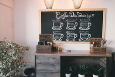 Free Basket, Chalkboard, Coffee, Shop Royalty Free Stock Image - 104145936