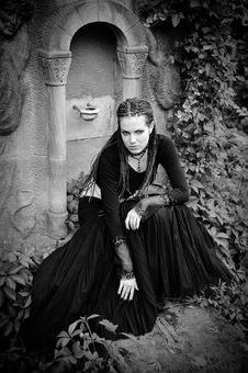 Free Gothic Girl Stock Image - 10421241