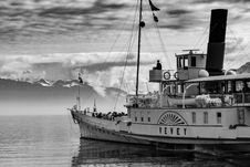 Free Grayscale Photography Of Yevey Sail Boat Stock Photo - 104210210