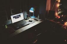 Free Black Laptop Beside Black Computer Mouse Inside Room Stock Image - 104286881
