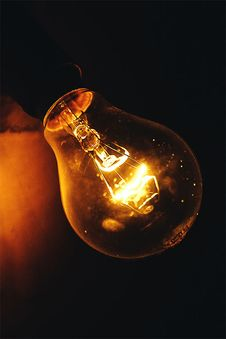 Free Close-up Photography Of Lighted Light Bulb Stock Photography - 104286962