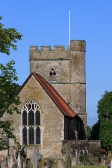 English Church Kent Royalty Free Stock Images