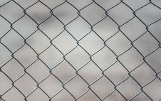 Free Chain Linked Fence Stock Image - 104512681