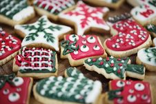 Free Christmas Cookies Stock Images - 104570034