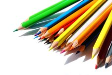 Free Colored Pencils Stock Photo - 10462030