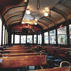 Free Bus Interior Royalty Free Stock Photo - 104635785