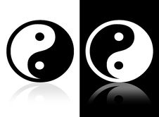 Free Yin Yang Symbol Stock Images - 10487904