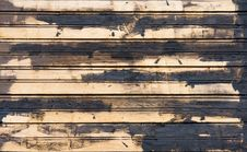 Old Wooden Plank Background Royalty Free Stock Photography