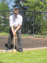 Free Jonny Plays Croquet Royalty Free Stock Images - 1055729