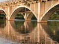 Free Bridge Over Townlake Royalty Free Stock Images - 1059679