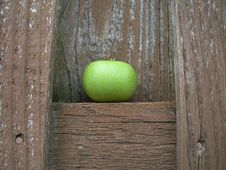 Free Rustic Apple Wood Stock Photography - 1051122