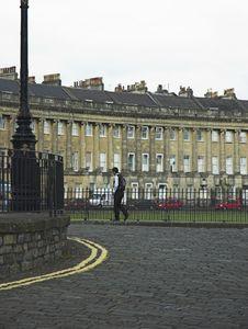 Bath S Royal Crescent Royalty Free Stock Photography
