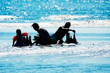 Free Fun In The Sea Royalty Free Stock Images - 1051329