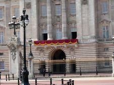 Buckingham Palace. Royalty Free Stock Photography