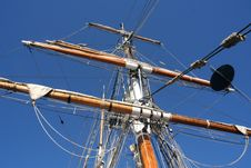 Free Looking Up Sailing Ship Mast Stock Photos - 1051843