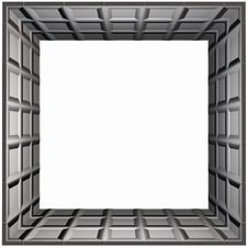 Box Frame Waffle Royalty Free Stock Photos