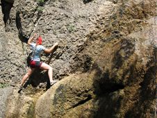 Free Rock Climber Stock Photography - 1053082