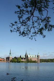 Frederiksborg Slot Hilleroed Royalty Free Stock Image