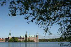 Frederiksborg Slot Hilleroed Stock Image
