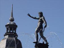 Frederiksborg Slot Hilleroed Royalty Free Stock Photos