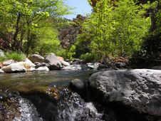 Free Wet Beaver Creek - Arizona Royalty Free Stock Images - 1053479
