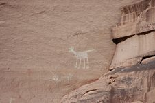 Free Navajo Rock Paintings Stock Photos - 1055023