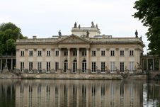 Free Lazienki Palace Stock Images - 1055554