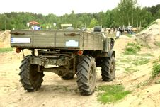 Off-road Competition- Unimag Royalty Free Stock Image