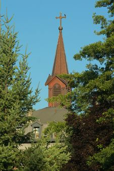 Free Monastery Steeple Royalty Free Stock Images - 1055849
