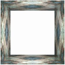 Free Box Frame Metallic Aged Stock Photo - 1056050