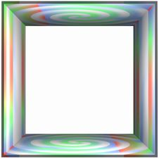 Free Box Frame Color Spiral Stock Images - 1056084